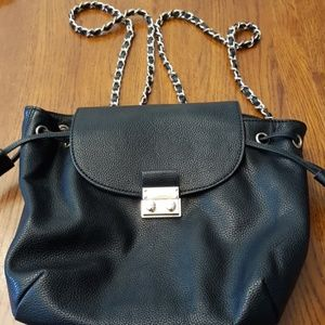 Small Forever 21 leather backpack